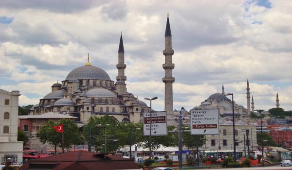 رحلة خليج القرن الذهبي جامع السلطان أيوب